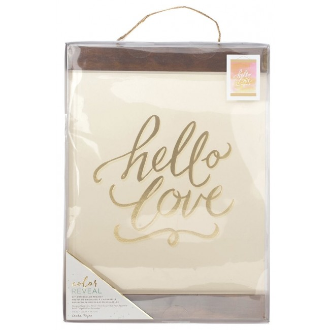 Toile Accrochable 11x15 Color Reveal - Hello Love