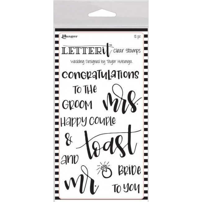 Tampon Acrylique Letter It - Wedding