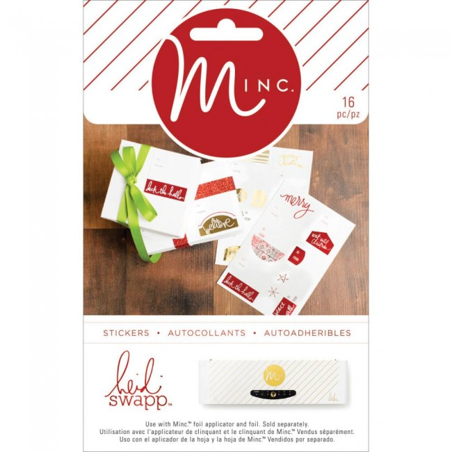 Minc Christmas To/From Labels