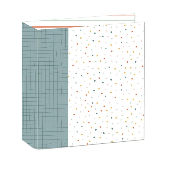 "Album 9"" x 12"" Invencibles Little Dots"