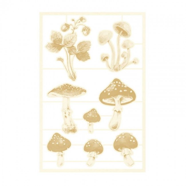 Chipboard Forest Tea Party 03