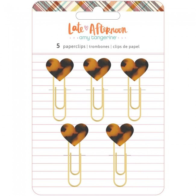 Clips Late Afternoon Amy Tangerine Heart