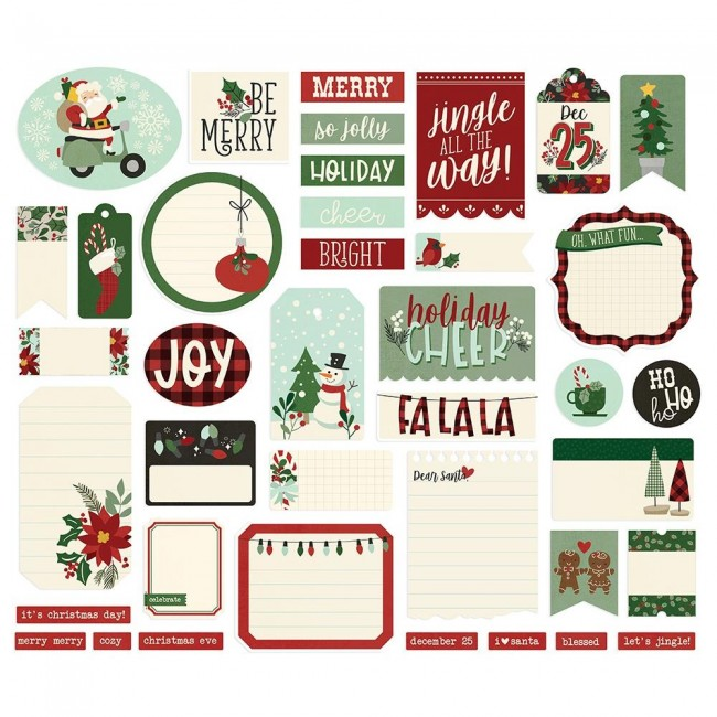 Die Cuts Jingle All The Way Journal
