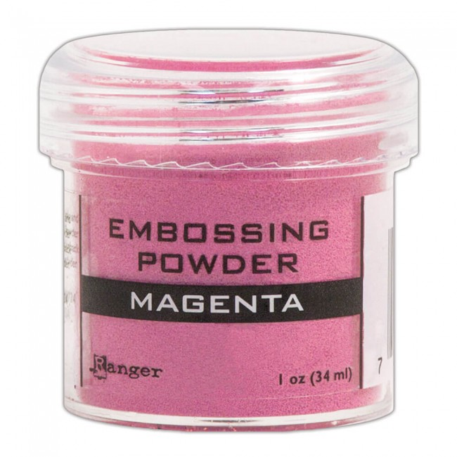 Poudre d'embossing Magenta