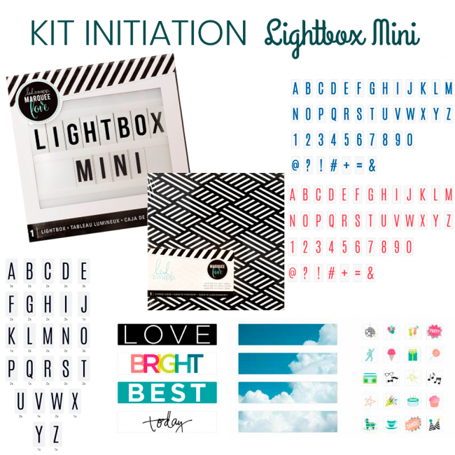 Kit Initiation Lightbox Mini