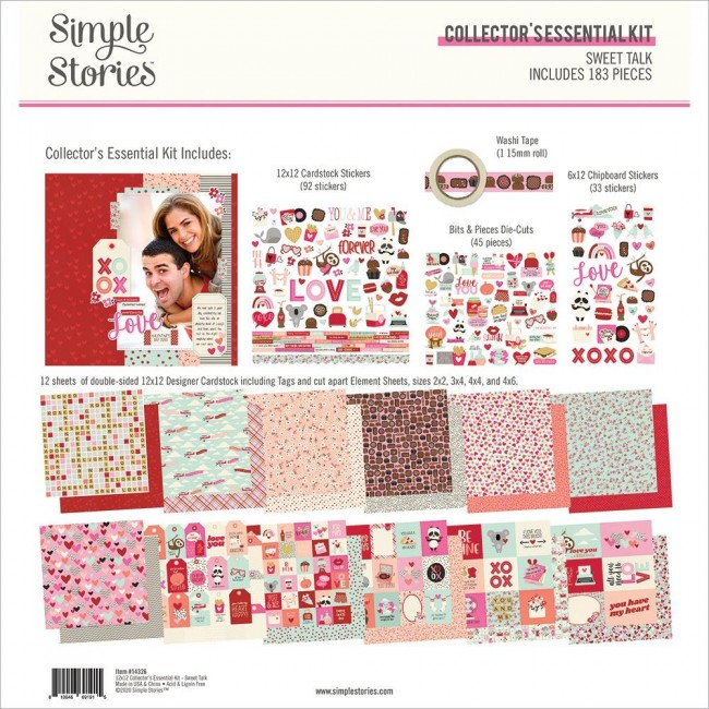 Kit Papiers Collector Essential Sweet Talk