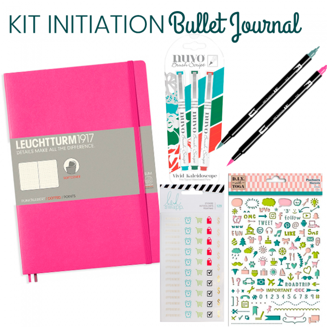 Kit Initiation Bullet Journal