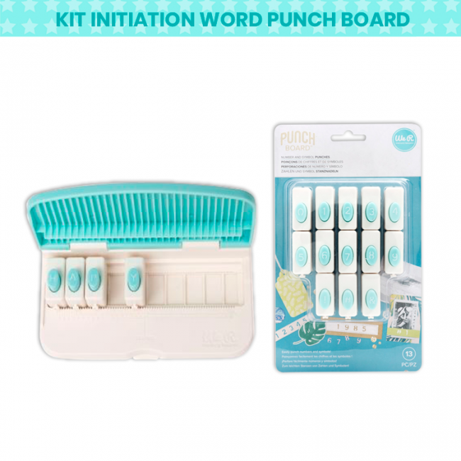 Kit Initiation Word Punch Board