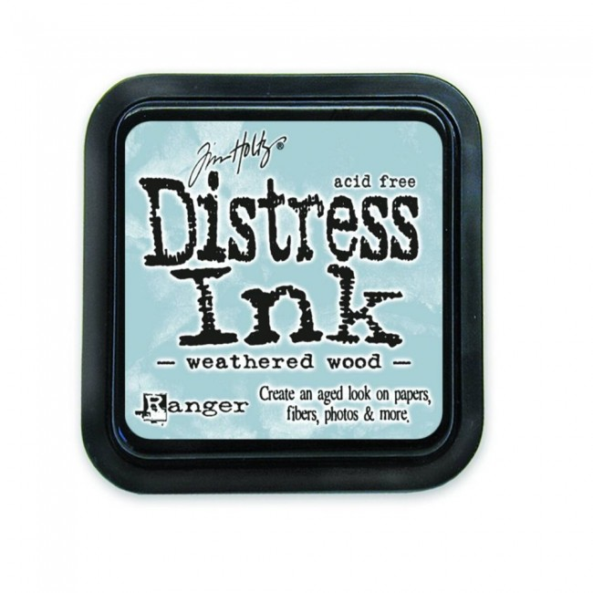 Encre Distress Ink Weathered Wood
