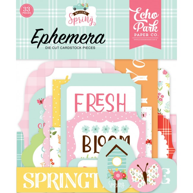 Die Cuts Welcome Spring