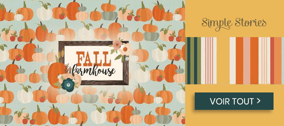 Fall Farmhouse de Simple Stories
