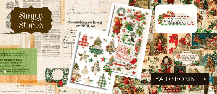 Simple Vintage Christmas Simple Stories - ES